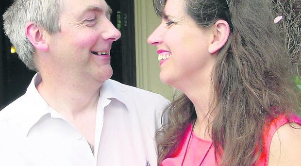 Kevin and Valerie love sharing a laugh