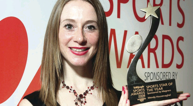 Wendy Houvenaghel is a previous winner of the Sports Star of the Year award