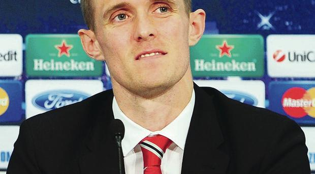 Darren Fletcher has yet to play in a major European final (Photo by Lennart Preiss/Bongarts/Getty Images)
