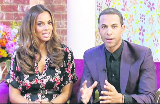 Marvin hosting This Morning with wife Rochelle
