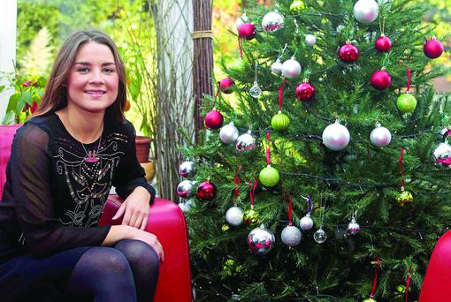 Kate Richardson will be relaxing at home this Christmas