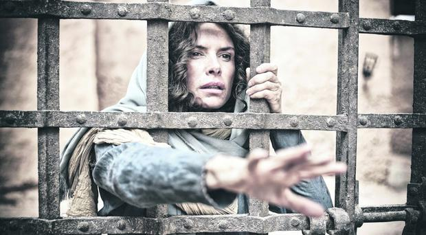 Roma Downey as Mary in The Bible mini-series