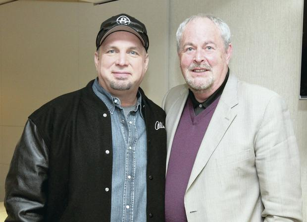 Gerry Kelly with country star Garth Brooks