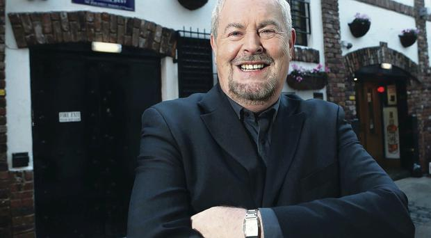 Broadcaster Gerry Kelly