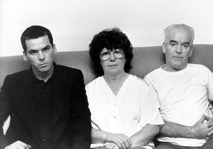 ANNIE MAGUIRE, HER HUSBAND PATRICK AND SON PATRICK, 28, AT THEIR MAIDA VALE HOME IN LONDON TODAY AFTER HEARING THAT THEIR CASES- OF THE SO CALLED MAGUIRE SEVEN- ARE TO BE INCLUDED IN THE JUDICIAL INQUIRY INTO THE TRAIL OF THE GUILDFORD FOUR.PIC PRESS ASSOCIATION