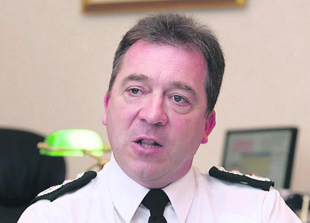 Chief Constable Matt Baggott has expressed concerns about terrorist activity