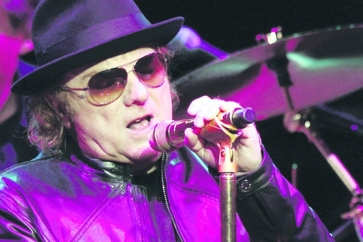 Hard rock: Singer Van Morrison will play two concerts at Dunluce Castle on June 7 and 8