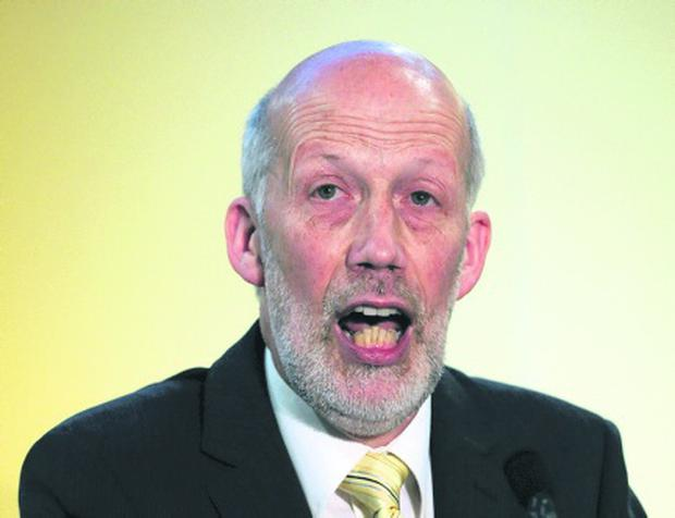 Alliance party leader David Ford