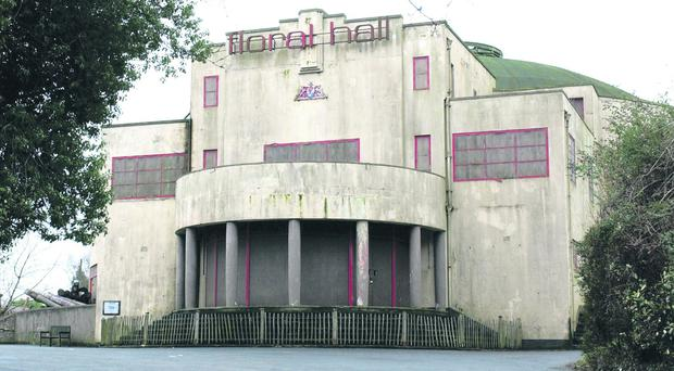The Floral Hall in its current state