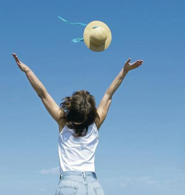 Happy days: peace and contentment are within everyone's reach