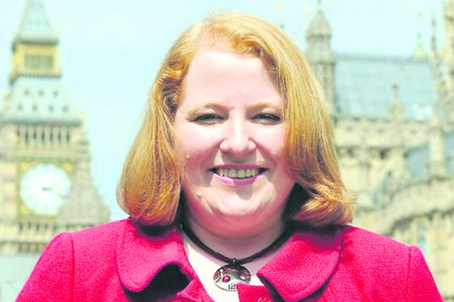 New MPs in Westminister...Alliance Deputy Leader Naomi Long MP, at Westminster, London. PRESS ASSOCIATION Photo. Picture date: Tuesday May 18, 2010. See PA story POLITICS MPs. Photo credit should read: Clive Gee/PA Wire ...A