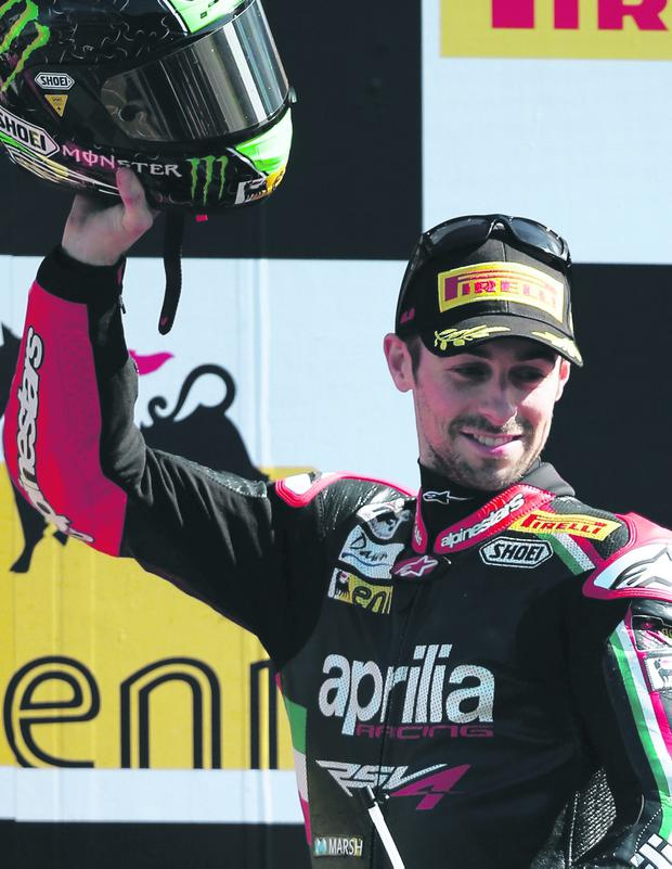 Eugene Laverty enjoyed double success at the World Superbike round in Istanbul yesterday