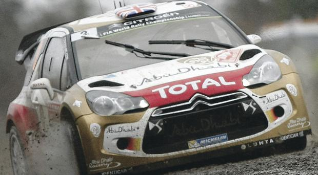 Kris Meeke powers to second in the Monte Carlo Rally yesterday