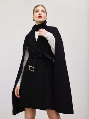 Fitted cape, £499