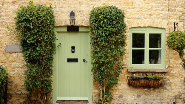 Rejuvenating effect: paint your front door to give your exterior a boost