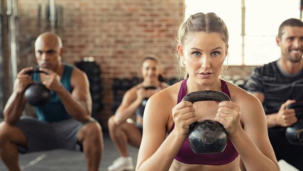Mixing it: weight training and cardio sessions both have their place, but it's vital to enjoy what you do
