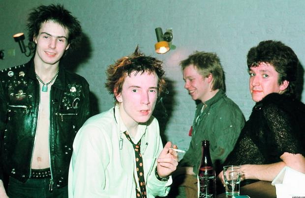 Real deal: the Sex Pistols epitomised youthful rebellion in the '70s