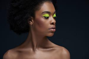 Make a statement: bright eyeliner is on-trend this year