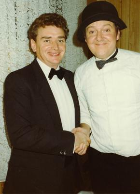 Ronnie Rutherford and Jimmy Cricket