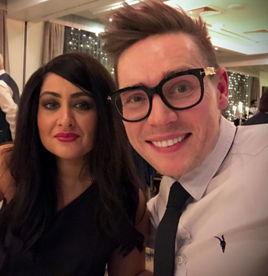 Angie Tandon and Ed Canning