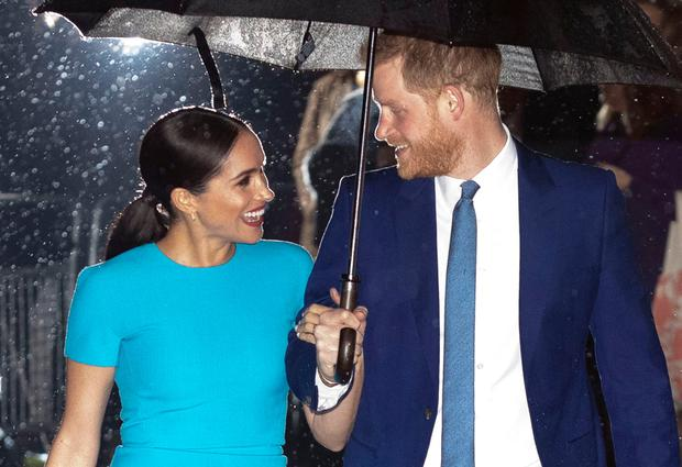 Harry and Meghan attend the Endeavour Fund Awards in London on March 5