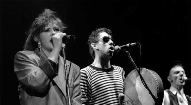 Divided opinion: Kirsty MacColl and Shane MacGowan singing The Pogues' Christmas classic Fairytale of New York