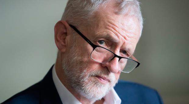 Jeremy Corbyn after Labour's disastrous election results