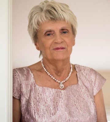 Positive role: Hazel Loney believes faith has benefited people here