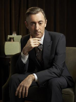On a role: after coming to terms with his turbulent upbringing, Alan Cumming has forged a successful career in shows such as The Good Wife