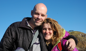 Improving health: nutritional therapist Louise Blanchfield and husband Richard