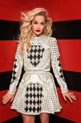 Brave front: Rita Ora's revealing outfit sparked complaints