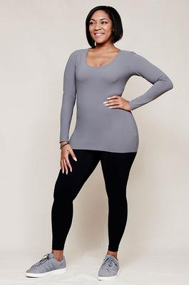 Hope Foundation top, £52.50 (was £75); Foundation black leggings, £55 (shoes, stylist's own)