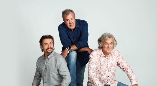Jeremy Clarkson is back on screens with Richard Hammond and James May to put all manner of vehicles through their paces