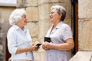 Keeping the faith: women account for around 56% of churchgoers