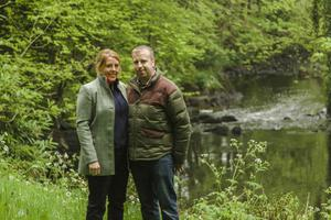 Spirited approach: Fiona and David Boyd-Armstrong