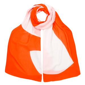 Scarf, £19.95, White Stuff; below, scarf, £29 (available May), Oliver Bonas