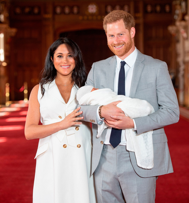 Harry and Meghan have attracted criticism for refusing to publicly name baby Archie's godparents