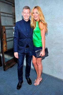 Happy couple: Paddy Kielty with his wife Cat Deeley
