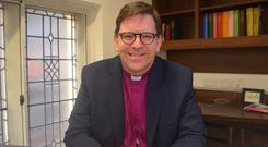 New role: Rt Rev Andrew Forster, the new Bishop of Derry and Raphoe