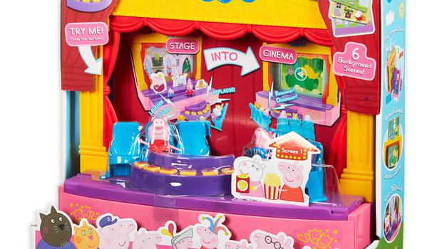 Character Options Peppa Pig Peppa's Stage Playset