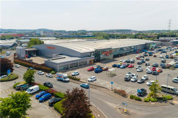 Balloo Retail Park was sold for £24.8m