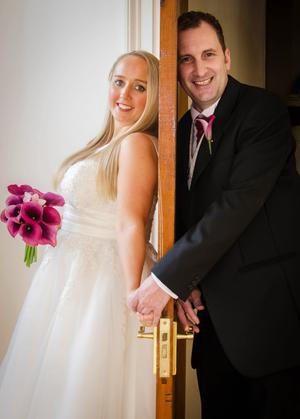 Julie and Andrew Gillespie got married last month