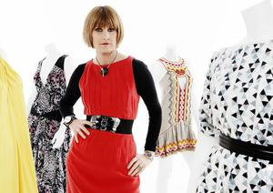 Modern approach: Mary Portas has become a parent with her civil partner Melanie Rickey
