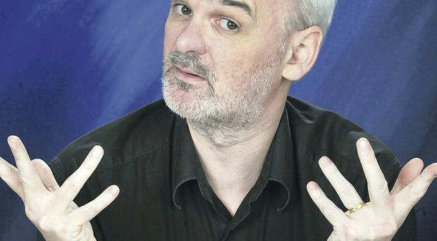 No joking: comedian Tim McGarry is also a legal expert