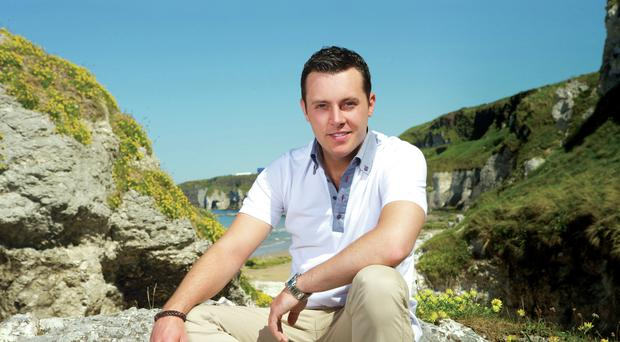 On the move: Nathan Carter now lives in Enniskillen