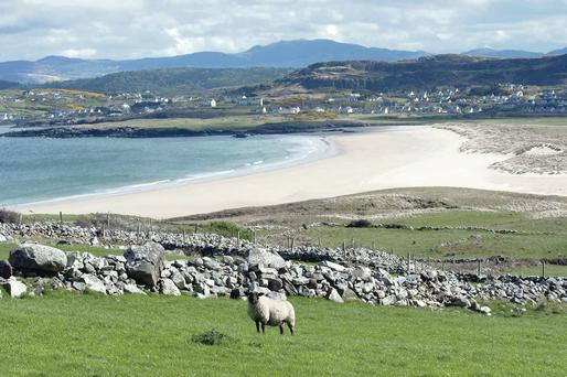 Spiritual home: the beautiful beaches at Dunfanaghy