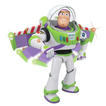 Childhood icon: Buzz Lightyear is a big hit with youngsters