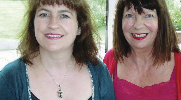 Close bond: Sheena Wilkinson and Poppy Kerr