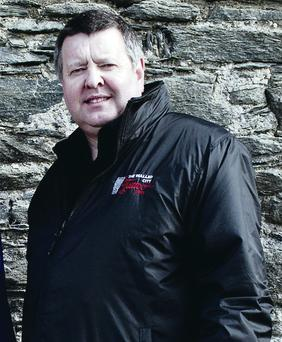 Pipe dreams: James Kee enjoys Ulster-Scots culture