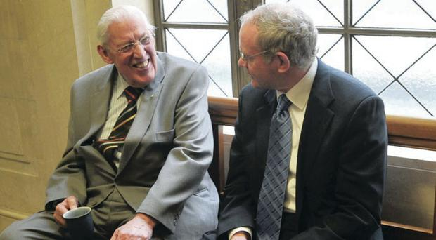 Ian Paisley struck up a good working relationship with Deputy First Minister Martin McGuinness